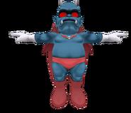 Pose T Demonio SSB4 (Wii U)