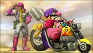 Créditos Modo Leyendas de la lucha Wario SSB4 (3DS)