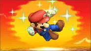 Créditos Modo Senda del guerrero Mario SSB4 (3DS)