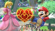 Créditos Modo Senda del guerrero Mario SSB4 (Wii U)