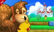 Donkey Kong y Pikachu SSB4 (3DS)