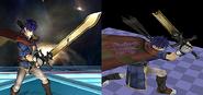 Espada de Ike rota Beta SSBB