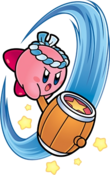 Martillo de Kirby en Super Star Ultra