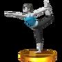 Trofeo de Entrenadora de Wii Fit SSB4 (3DS)