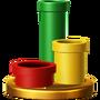 Trofeo de Tuberías SSB4 (Wii U)