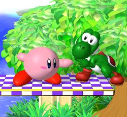 Agarre de Kirby SSBM