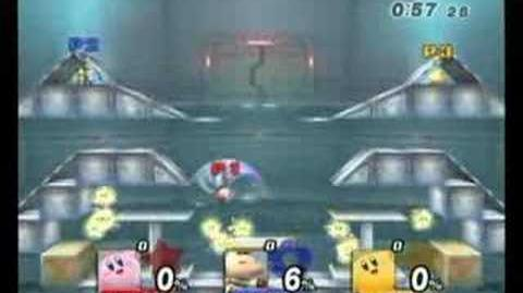 Brawl Glitches Cook Kirby
