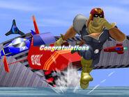 Créditos Modo Aventura Captain Falcon SSBM