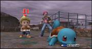 Lucas y Entrenador Pokemon seleccion ESE SSBB