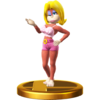 Trofeo de Candy Kong SSB4 (Wii U)