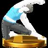 Trofeo de El travesaño SSB4 (Wii U)