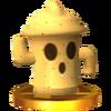 Trofeo de Giroide SSB4 (3DS)
