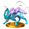 Trofeo de Suicune SSB4 (Wii U)
