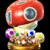 Trofeo del Escuadrón Toad SSB4 (Wii U)