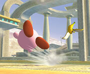 Kirby resbala SSBB
