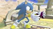 Sonic en Reino del Cielo SSBU