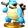 Trofeo de Blastoise SSB4 (Wii U)
