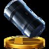 Trofeo de Cabeza de martillo SSB4 (Wii U)