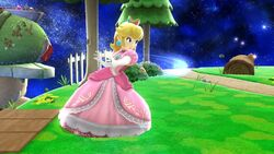 Ataque normal Peach (1) SSB4 Wii U