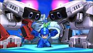 Créditos Modo Senda del guerrero R.O.B. SSB4 (3DS)