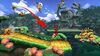Pac Man, Donkey Kong, Pit y Bowser en la Jungla escandalosa SSB4 (Wii U)