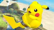 Pikachu en Altárea SSB4 (Wii U)