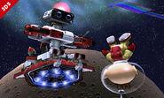 R.O.B. y Olimar en la Senda Arco Iris SSB4 (3DS)
