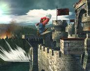 Smash meteórico Mario SSBB (4)