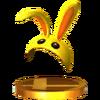 Trofeo de Capucha conejo SSB4 (3DS)