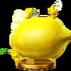 Trofeo de Pikmin amarillo SSB4 (Wii U )