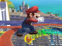 Agarre corriendo Mario SSBB