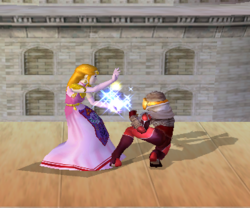 Agarre de Zelda SSBM