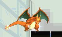 Ataque smash inferior Charizard (1) SSB4 (3DS)