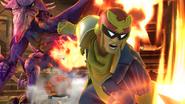 Créditos Modo Senda del guerrero Captain Falcon SSB4 (Wii U)