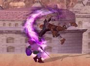 Dragón Gerudo en el aire SSBM