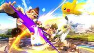 Pit atacando SSB4 (Wii U)