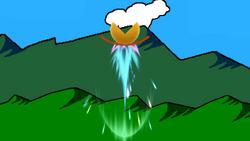 Trampolín meteórico (3) SSB4 (Wii U)