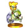Trofeo de Bubble SSB4 (3DS)