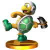 Trofeo de Hermano Martillo SSB4 (3DS)