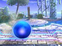 Ataque Smash inferior Sonic SSBB (2)