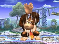 Ataque Smash superior Donkey Kong SSBB