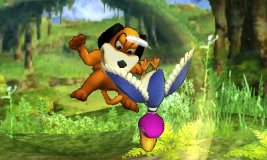 Ataque aéreo inferior de Dúo Duck Hunt SSB4 (3DS)