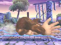 Ataque de recuperación Donkey Kong SSBB (3)