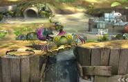 Cepucranco en el Vergel de la Esperanza SSB4 (Wii U)