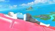 Entrenadora de Wii Fit en SSB4 (Wii U)