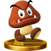 Trofeo de Goomba SSB4 (Wii U)