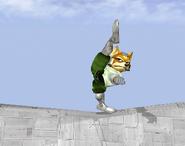 Ataque fuerte hacia arriba de Fox SSBM