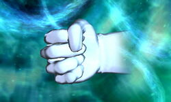 Master Hand Agarre SSB4 (3DS)