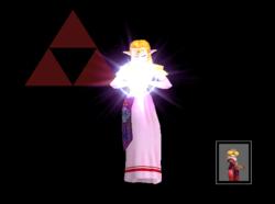 Pose de victoria Zelda X (1) SSBM