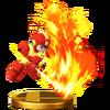 Trofeo de Mega Man (alt.) SSB4 (Wii U)